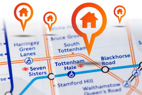 Tottenham London Map.Looking To Purchase A Property In London Choose A Hotspot