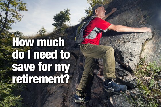 How much do I need to save for my retirement?