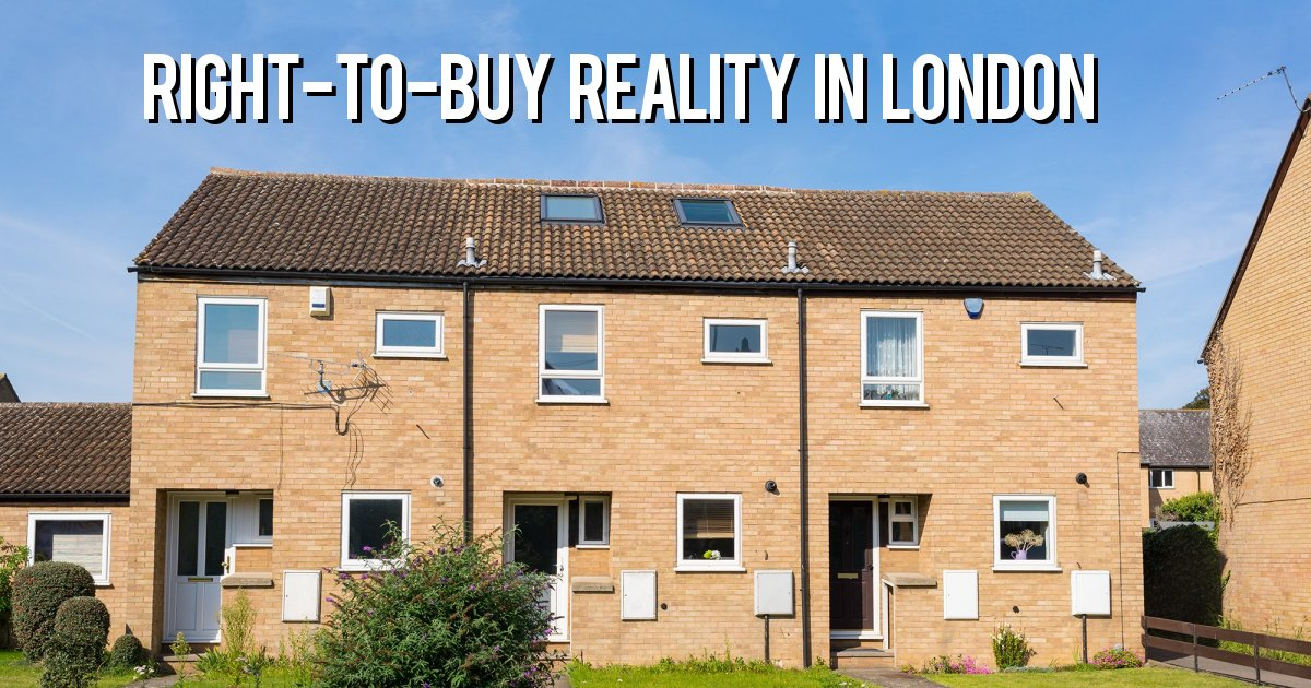 Right-to-buy reality in london