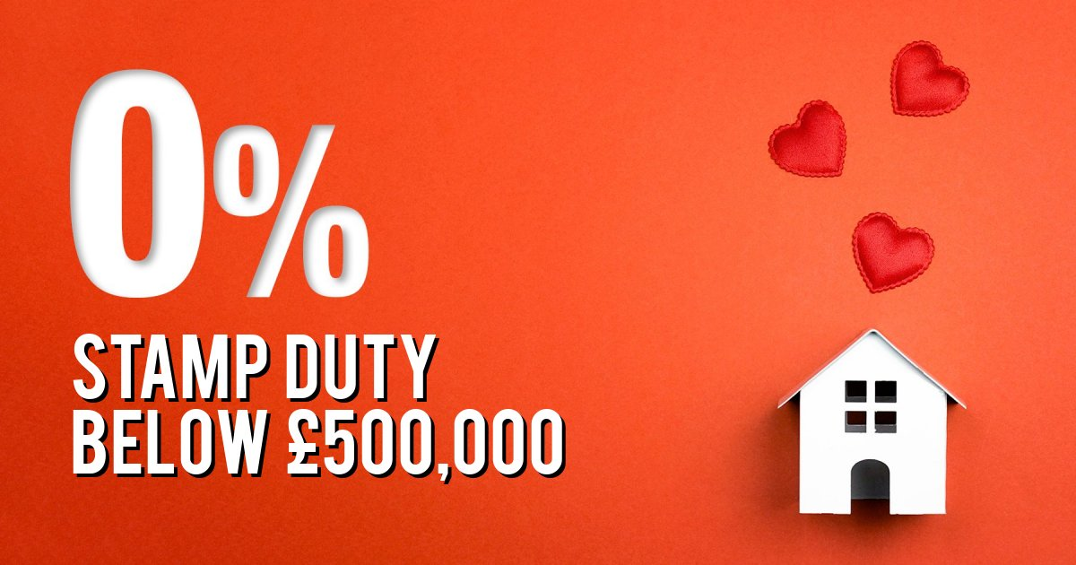 STAMP DUTY BELOW £500,000